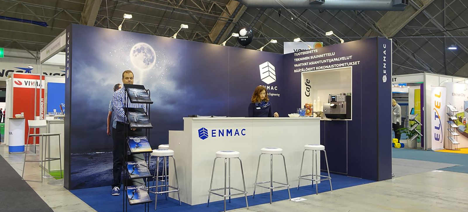 Messua exhibition stand - Enmac, Energia 2016