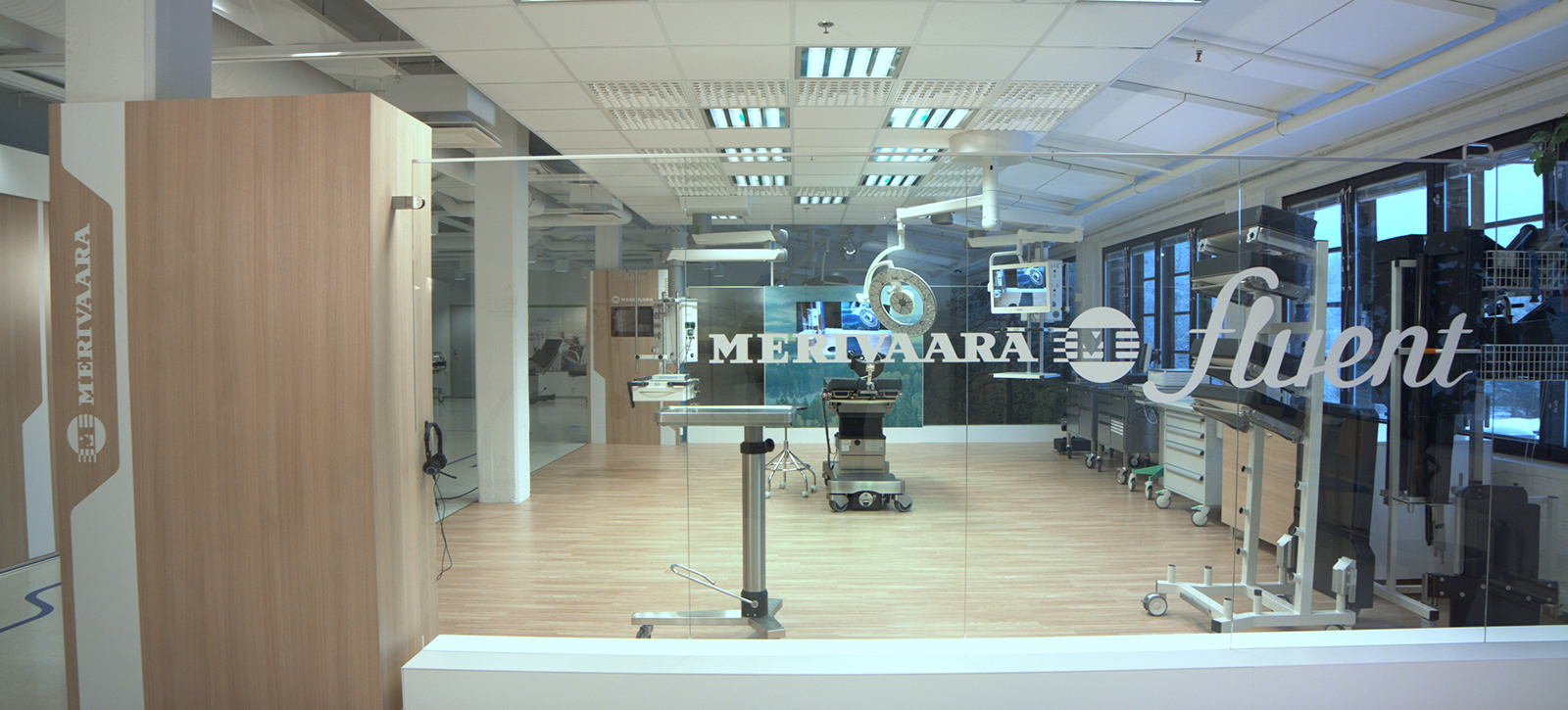 Messua interior design - Merivaara Showroom logo