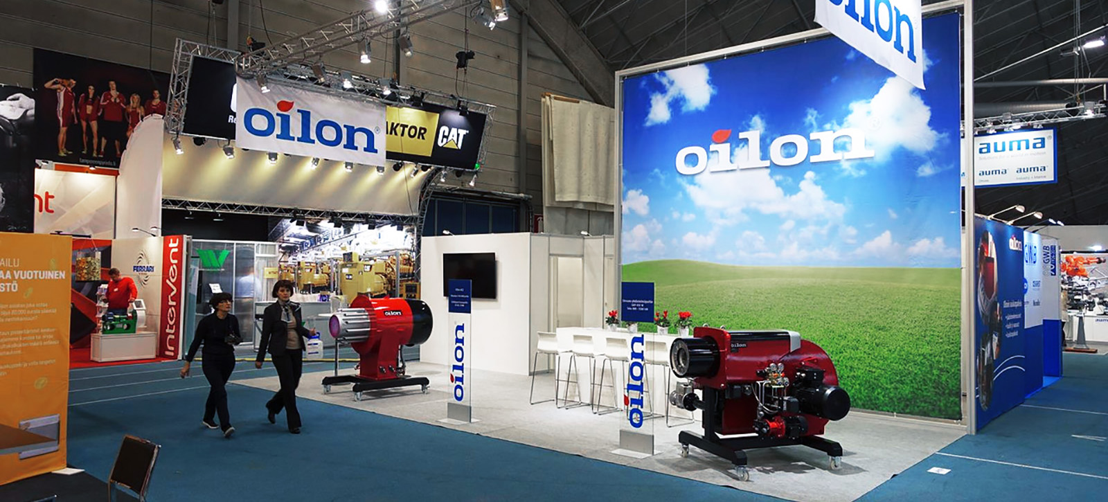 Messua exhibition stand - Oilon, Energia 2016