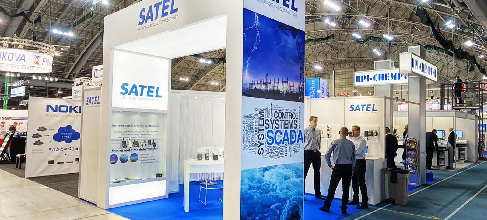 Messua exhibition stand - Satel, Energia 2016